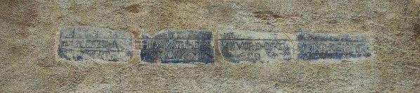 St Ninian's plaque Shore Leith Edinburgh