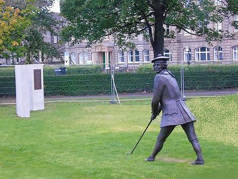 John Rattray at Leith Links
