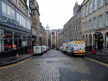 Blair Street Royal Mile Edinburgh.