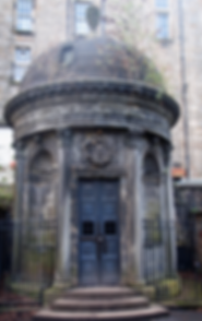 Greyfriar's kirkyard George Haunted McKenzie Tomb Edinburgh
