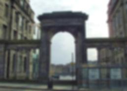 regent bridge arch facing south