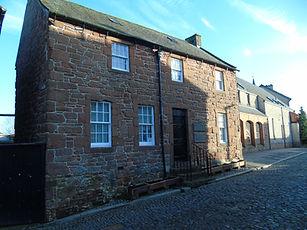 Robert Burns House where he died