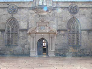 Heriots School Quadrangle Edinburgh