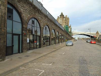 East Market Street  Edinburgh