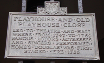 old playhouse close plaque canongate roy