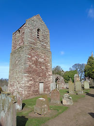 Stenton Kirk and burial ground East Loth