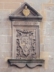 Heart of Midlothian Lodge 832 Plaque (2)