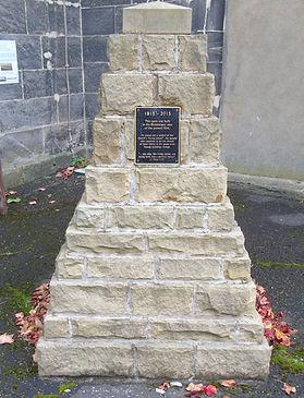 Living Stones Cairn Liberton Kirk Edinbu
