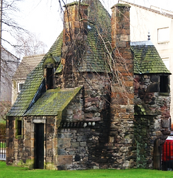 Queen Mary's Bath House Holyrood Palace