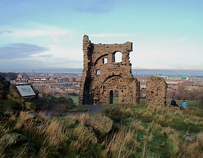 arthur seat st anthony's chapel Edinburgh