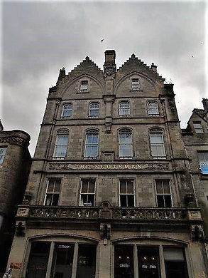 Scotsman Newspaper First building Edinburgh