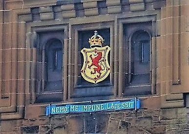 Edinburgh Castle Esplanade  Castle coat of arms , Garrison moto