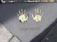 ANNIE LENNOX. Golden Hands Award Edinbur
