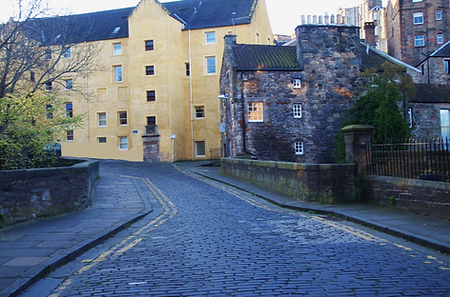 OLD TOLBOOTH GRANARY         BELL'S BRAE HOUSE EDINBURGH