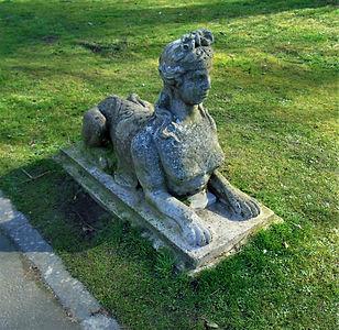 Lauriston Garden Statue. Edinburgh