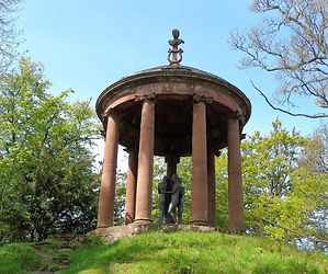 Temple of Muse Dryburgh Scottish Borders