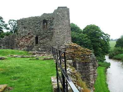Hailes Castle East Lothian Scotland