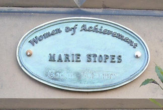 Marie Stopes. Abercrombie Place Edinburg