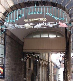 Old Fishmarket Close High Street Royal M