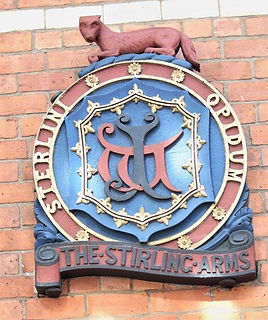 Stirling Arms Plaque Stirling Attractions Tour Scotland