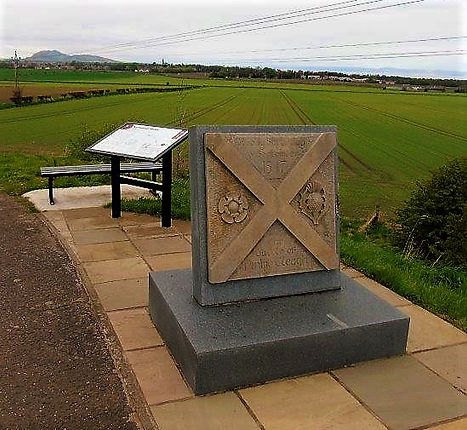 Battle of Pinkie Cleuch Memorial East Lothian
