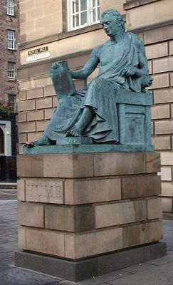 David Hume Statue Lawnmarket Royal Mile