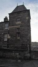 House built on the Flodden Wall Johnston