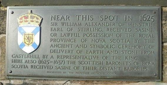 Edinburgh Castle Esplanade  Baronette of Nova Scotia