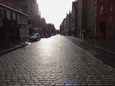 High Street Lower Royal Mile Edinburgh