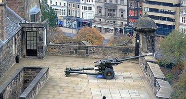 Mills Mount One O'clock Gun Edinburgh Castle