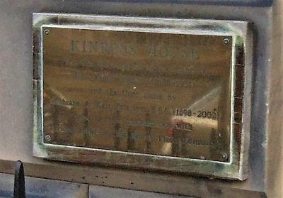 Kinross House. Abercrombie Place Edinbur