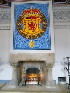 King's Inner Hall Fireplace Stirling Cas