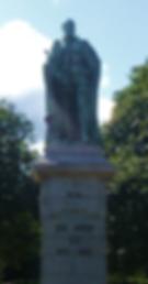 Statue Edward VII Newhaven Edinburgh