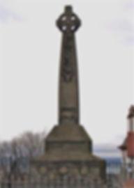 Runic Cross Edinburgh Castle Esplanade War Memorial