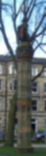 Meadows Pillars North Melville Drive Edinburgh