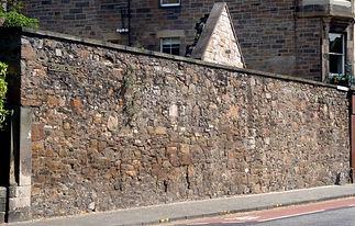 Telfer Wall Lauriston Place Edinburgh