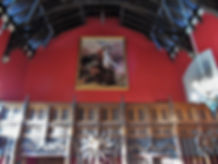 Great Hall Ensign Ewart Painting Crown Square Edinburgh Castle