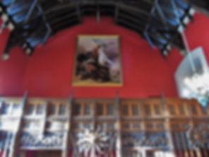 Great Hall Ensign Ewart Painting Edinburgh Castle