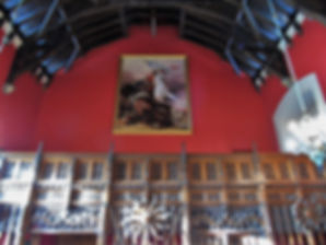 Great Hall Ensign Ewart Painting Edinburgh Castle