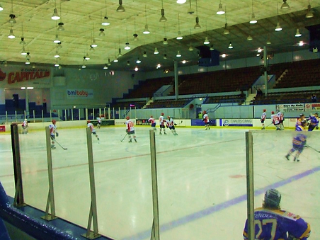 Murrayfield Ice Rink Hockey Team Practice