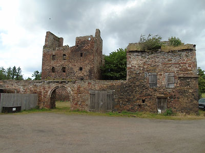 Redhouse Castle.Longniddry East Lothian