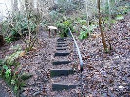 Ice House steps  Braids Edinburgh