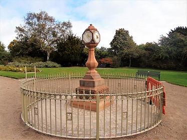 Kinloch Anderson Sundial Inverleith Park Stockbridge Edinburgh