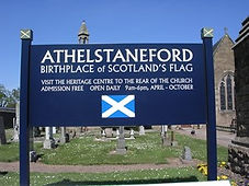 Athelstaneford Village Flag Centre About East Lothian