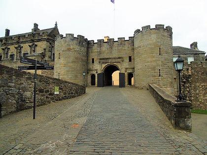Stirling Castle Forework Gatehouse Entra