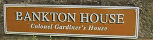 Bankton House Sign Prestonpans East Lothian