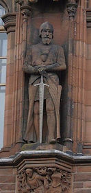 Sir James Douglas Statue from the Portrait Gallery Edinburgh