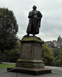Adam Black. Statue East Princes Street Gardens Edinburgh