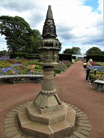 Saughton Park Gardens Sundial Edinburgh