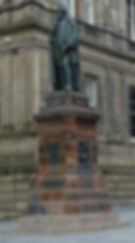 Statue of WILLIAM CHAMBERS CHAMBER STREET EDINBURGH